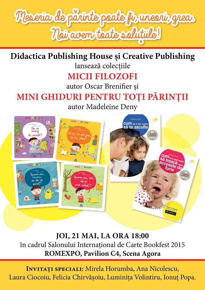 Lansari de colectii – Didactica Publishing House – Bookfest